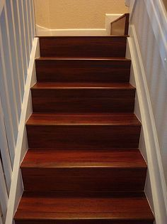 Best Painted Stair Risers Update Old Stairs With Painted Pine 400 x 300