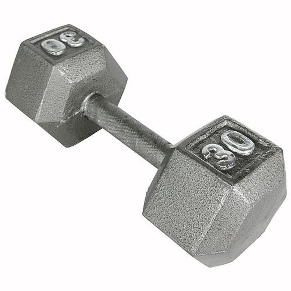 Weider 30 lb  Hex Dumbbell | Products | Hex dumbbells