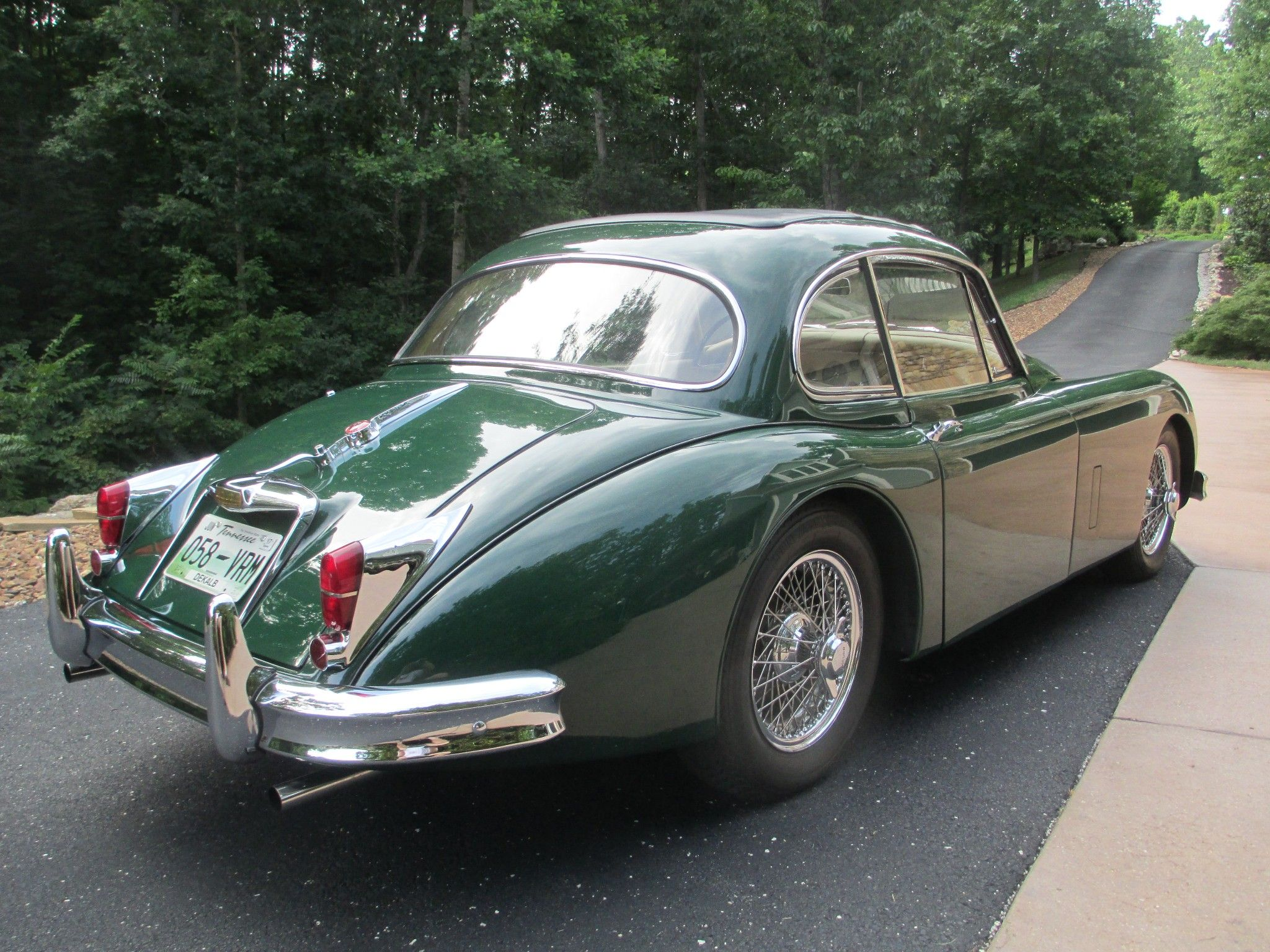 small resolution of this 1961 jaguar xk150 fhc is a two owner example that was the subject of a