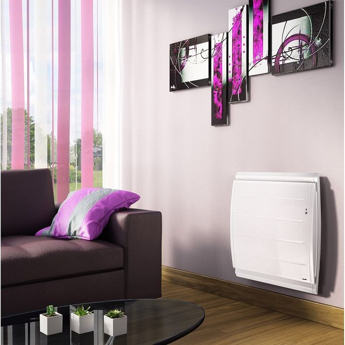 radiateur lec connect double syst me chauffant sauter bolero auto 1000w. Black Bedroom Furniture Sets. Home Design Ideas