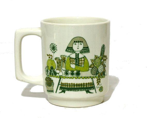 Figgjo Flint Market Mug Turi Design Mid Century Ceramics Vaisselle