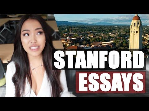 MY ACCEPTED STANFORD ESSAYS (and other essay/application advice