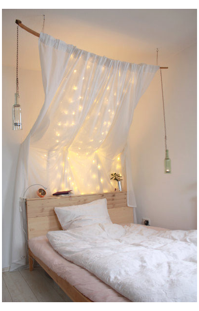 Diy Dreamy Four Poster Bed Ikea Hack For Fjellse Neiden Or Just An Inspiration For Your Individual Fo 24555 In 2020 Ikea Hack Living Room Four Poster Bed Ikea Bed