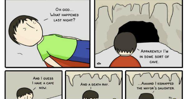What Happened Last Night? – (Comic)