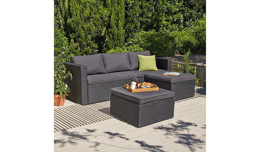 Amazing Orlando Garden Chaise And Footstool Garden Outdoor Inzonedesignstudio Interior Chair Design Inzonedesignstudiocom