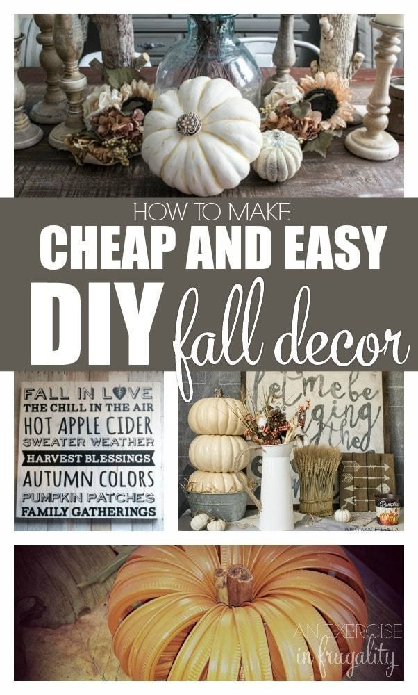 38+ Best fall crafts for adults ideas