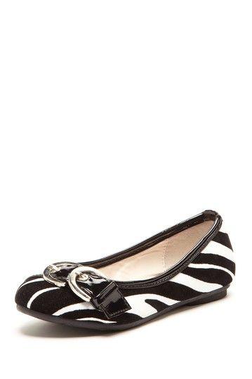 1984effa2db Laura Ashley   Kensie Kensie Girl Zebra Ballet Flat