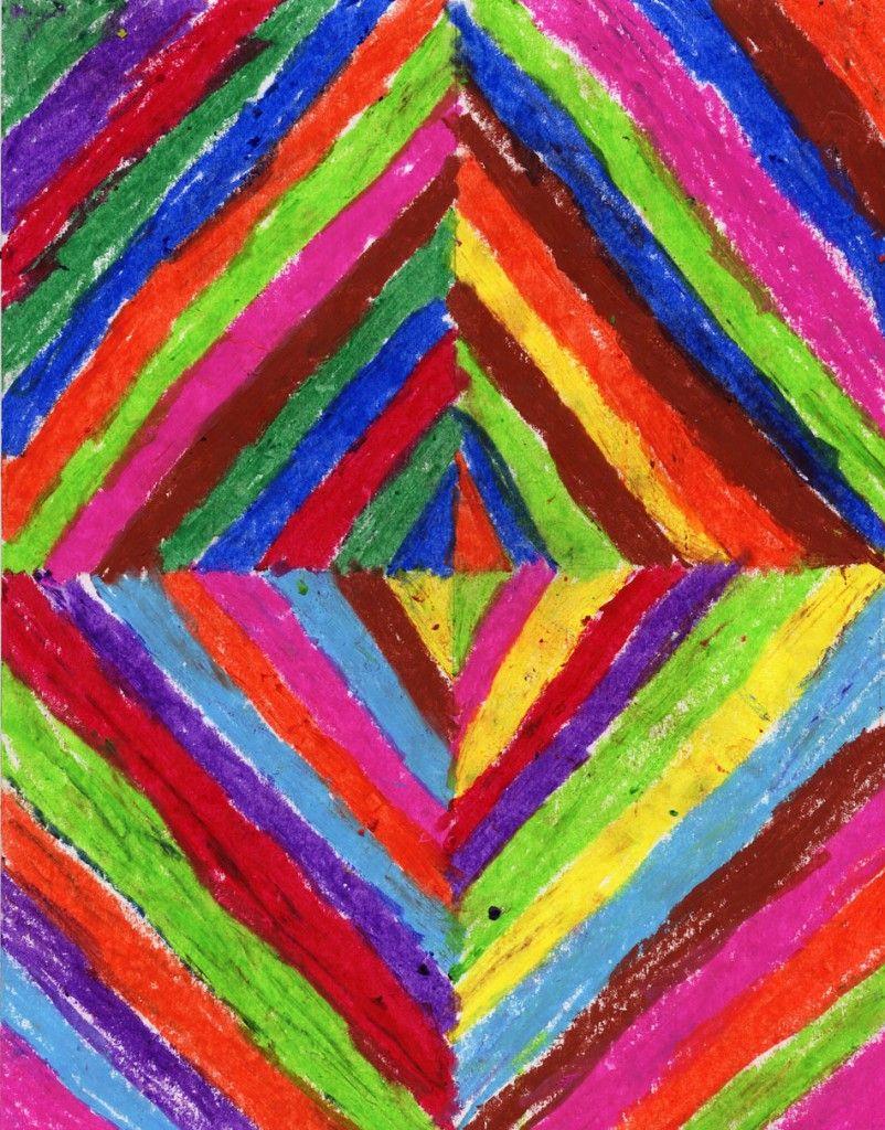 Kandinsky by Matson | Pastel, Oil pastels and Kid