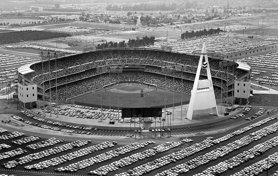 Angels Stadium 1966 Anaheim Angels Anaheim Angels Stadium Angel Stadium