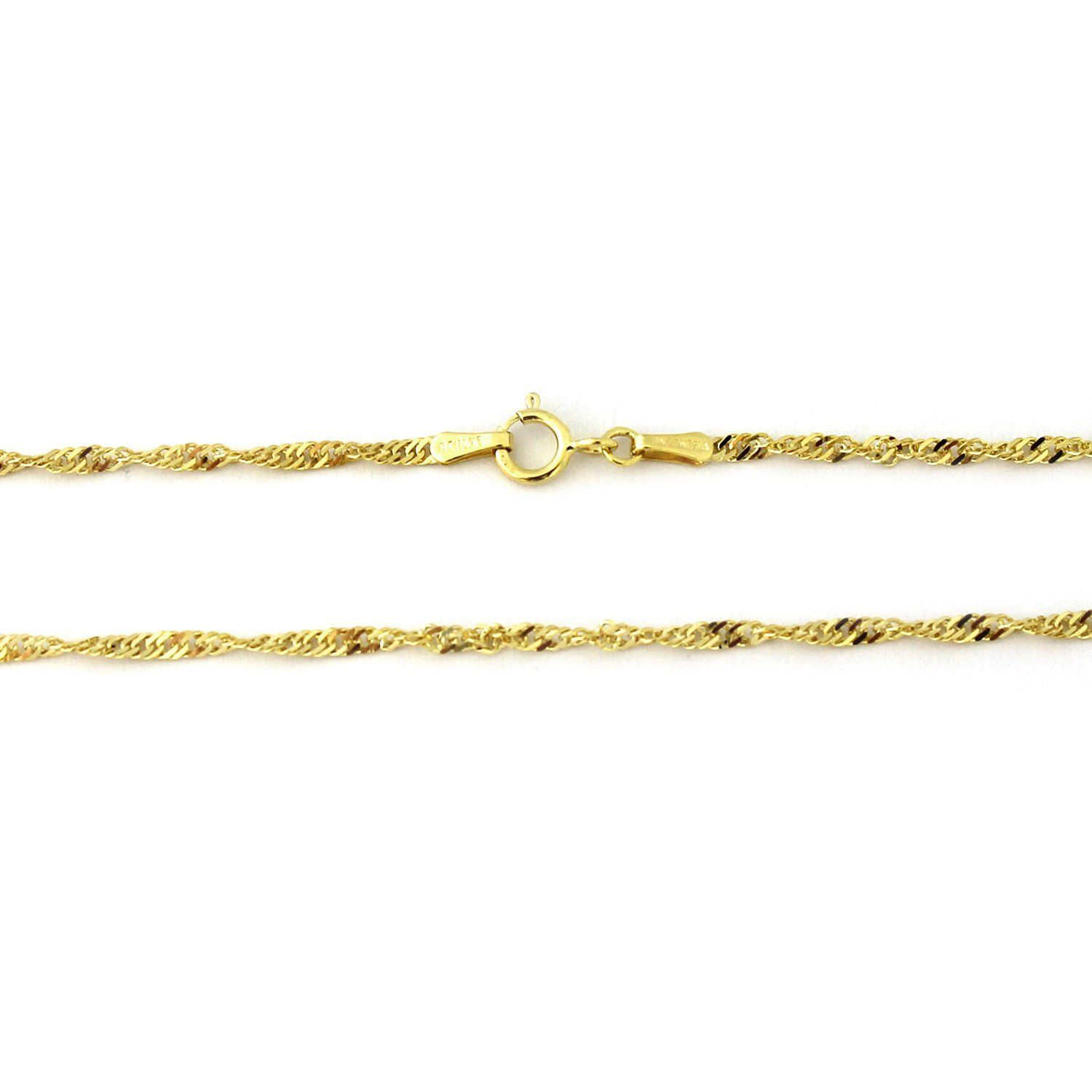 10k Yellow Gold 2 3mm Singapore Chain Adjustable Anklet 9 10 More Info Could Be Found At The Image Url Chain Bracelet Women Anklets Anklets