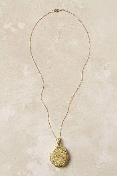Victorian Engraved Locket, $1,358 Anthropologie. Beautifullllll