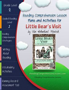 Little Bear\'s Visit Lesson Plans & Activities Package, Second Grade ...