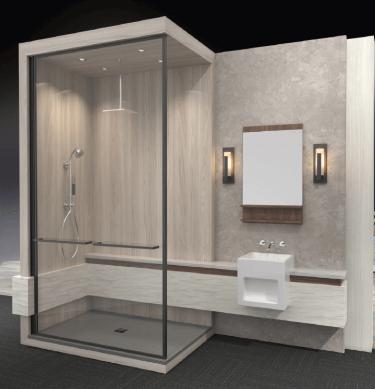 Jsi Raves Thinking About Renovating Wilsonart Can Make Your Life Easier Jennifer Stoner Interiors Wilsonart Bathroom Design Bathroom Renovations