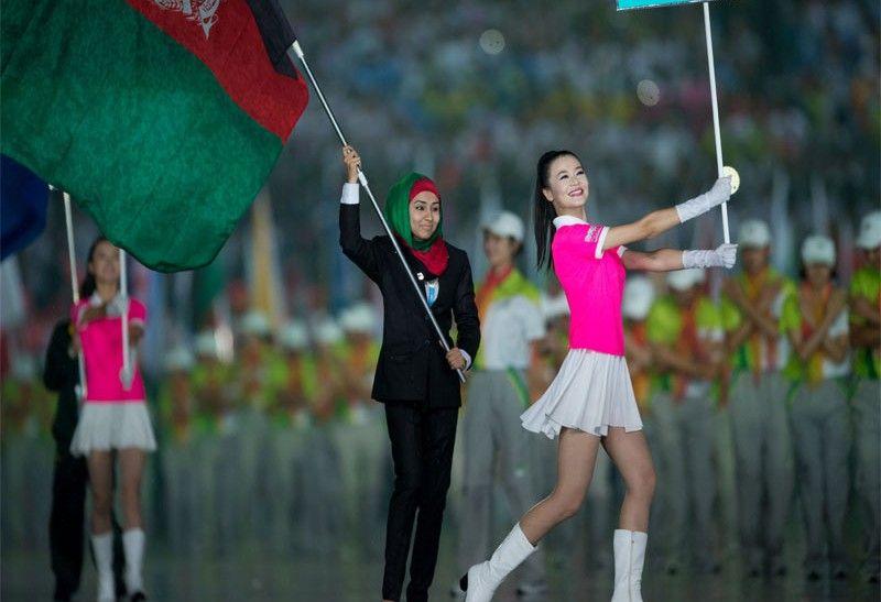 Cerca de 3.600 atletas y 201 países alzaron las banderas en el Estadio Olímpico de la ciudad de Nanjing, en los Juegos Olímpicos de la Juventud en China.