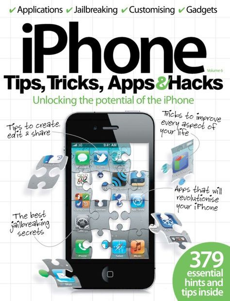 iPhone Tips, Tricks, Apps & Hacks Magazine Buy
