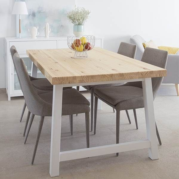 Comedores con estilo n rdico dinner room deco interiors for Mesa comedor estilo nordico