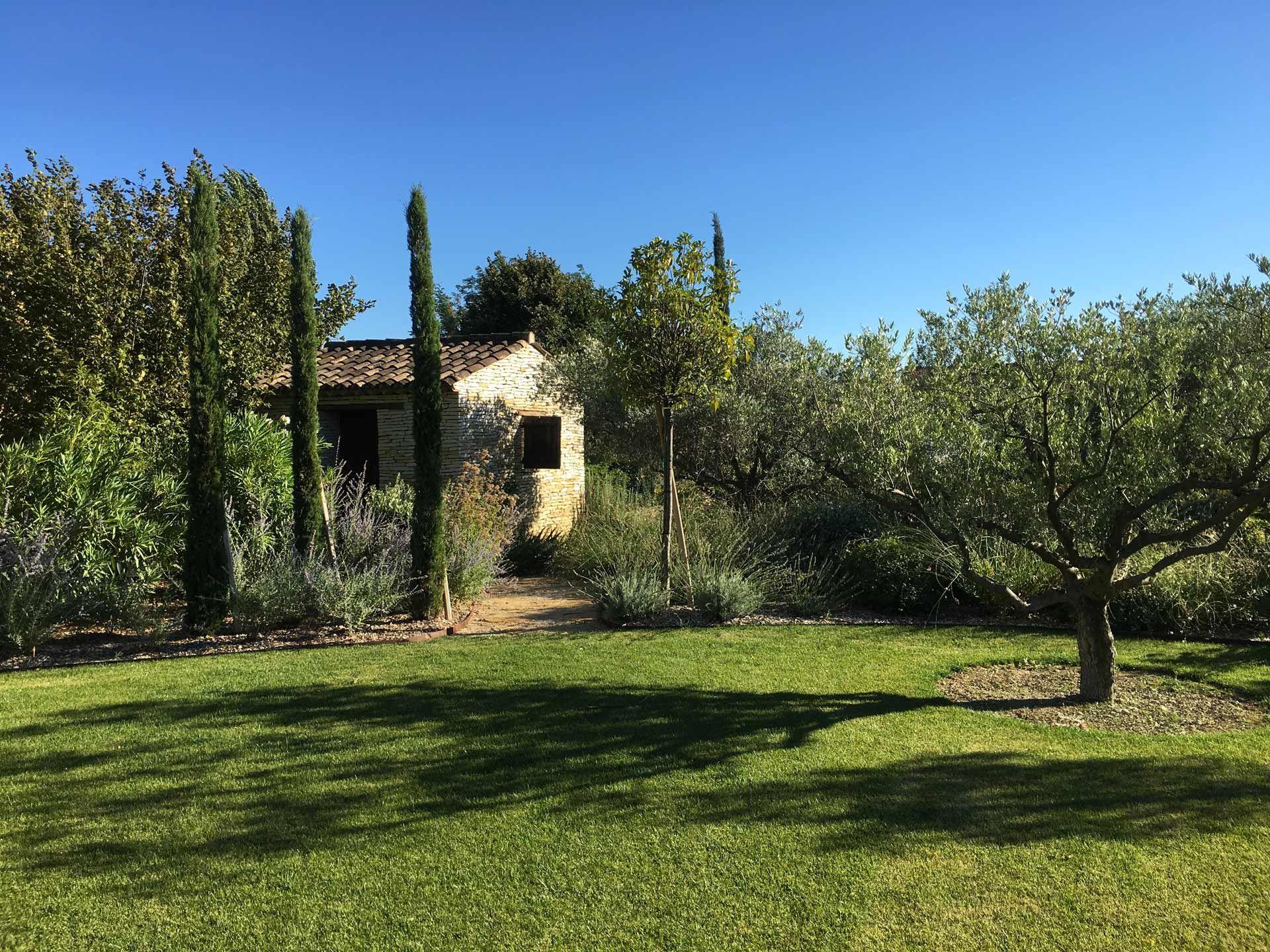 Architecte Paysagiste Aix En Provence aix-en-provence, création jardin privé, architecte paysagiste
