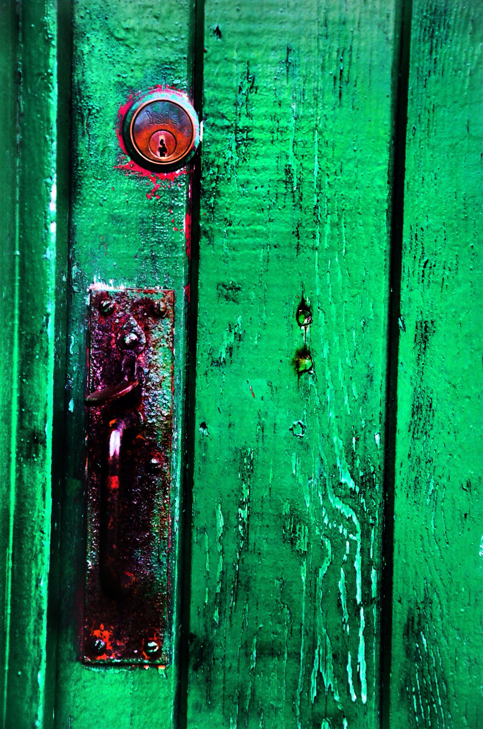 My own photography decaying industrial door loved the colour and