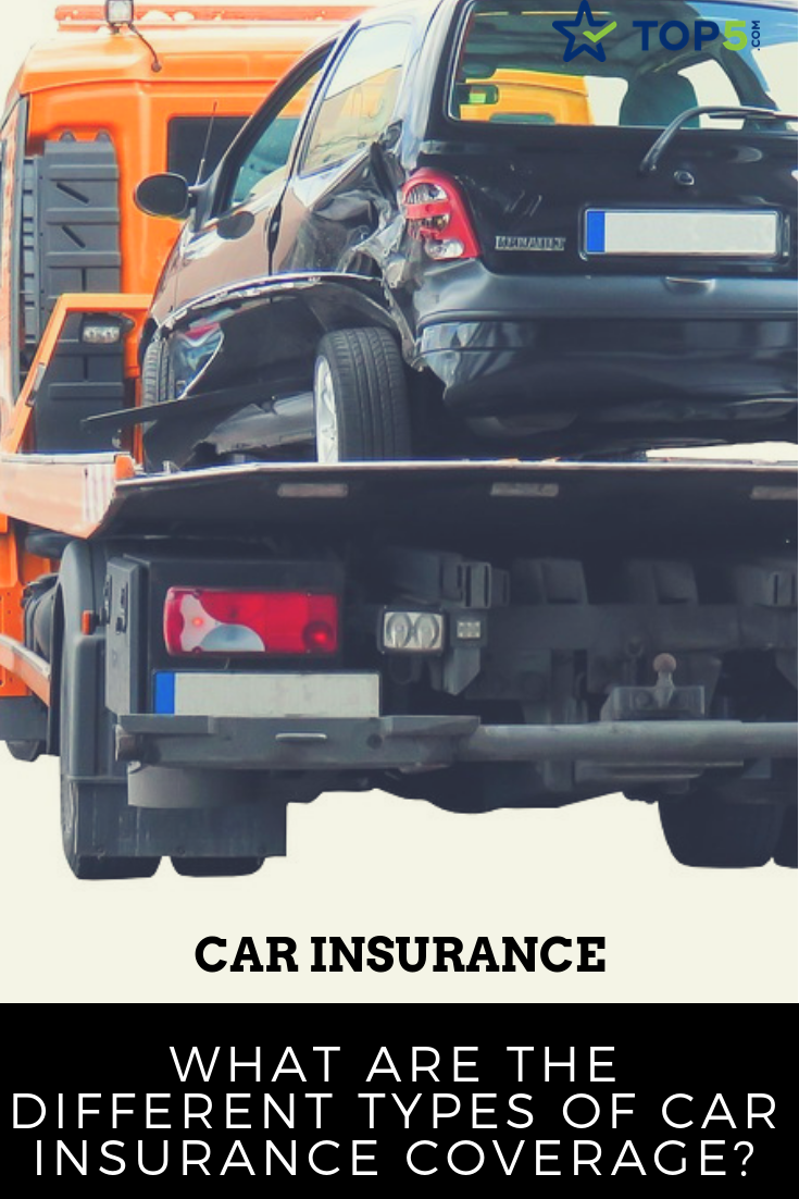 What Are The Different Types Of Car Insurance Coverage Car