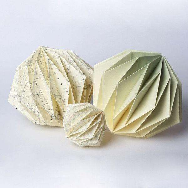 Big origami ball dip dye mint things i like origami d coration origami papier - Dessin lampion ...