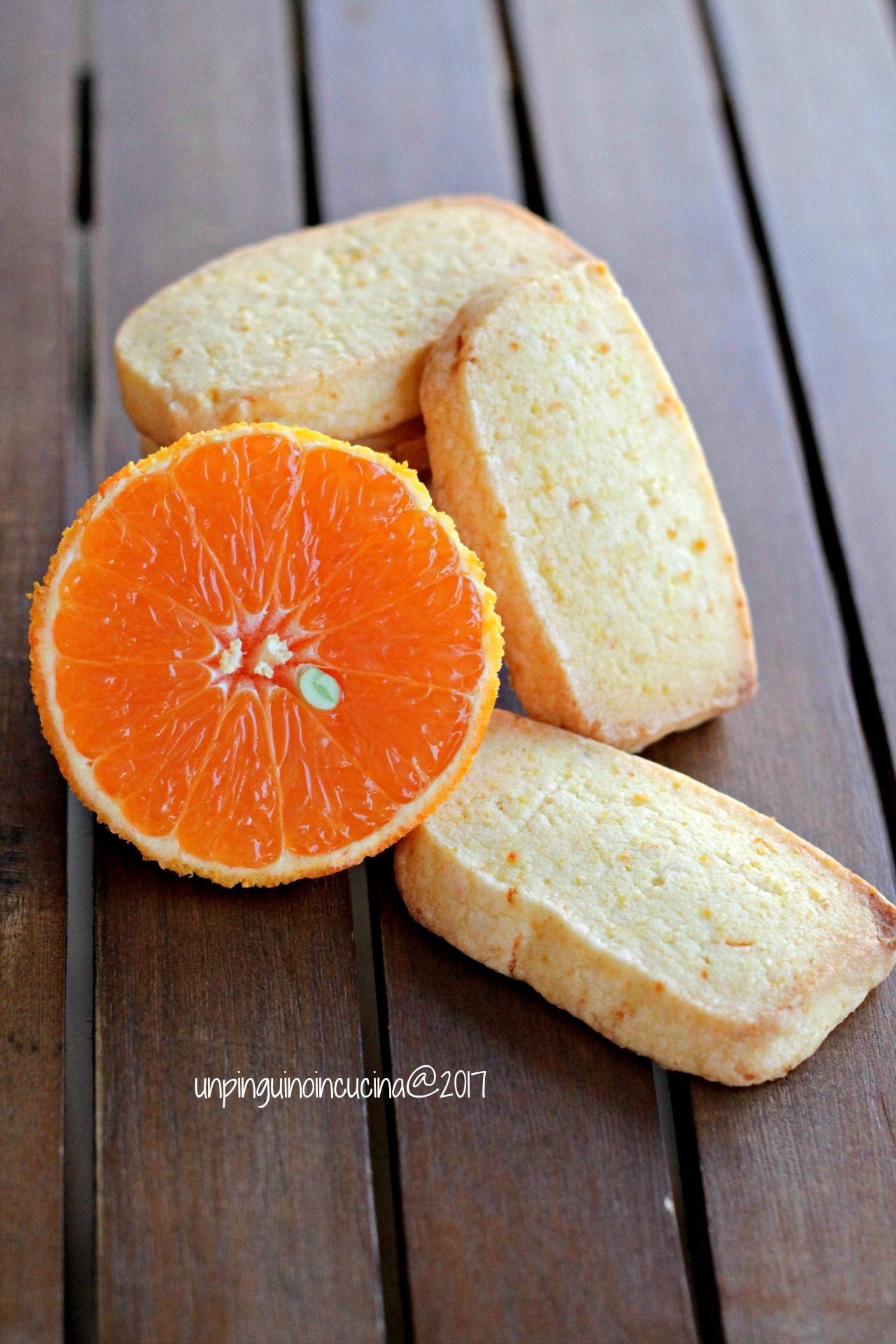 Clementine Cookies - Biscotti rustico alle clementine | Un Pinguino in Cucina