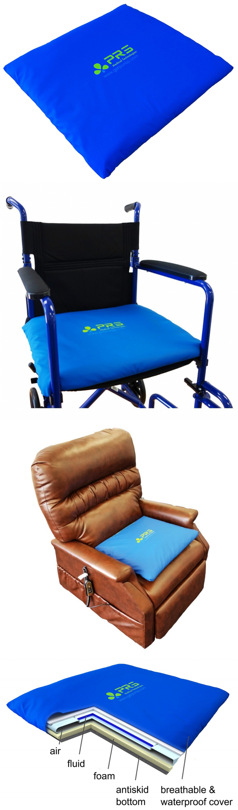 Seat and Posture Cushions Purap Clinical Cushion For Wheelchairs