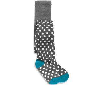 claradeparis.com loves these Polka dots tights for girls by See Kai Run