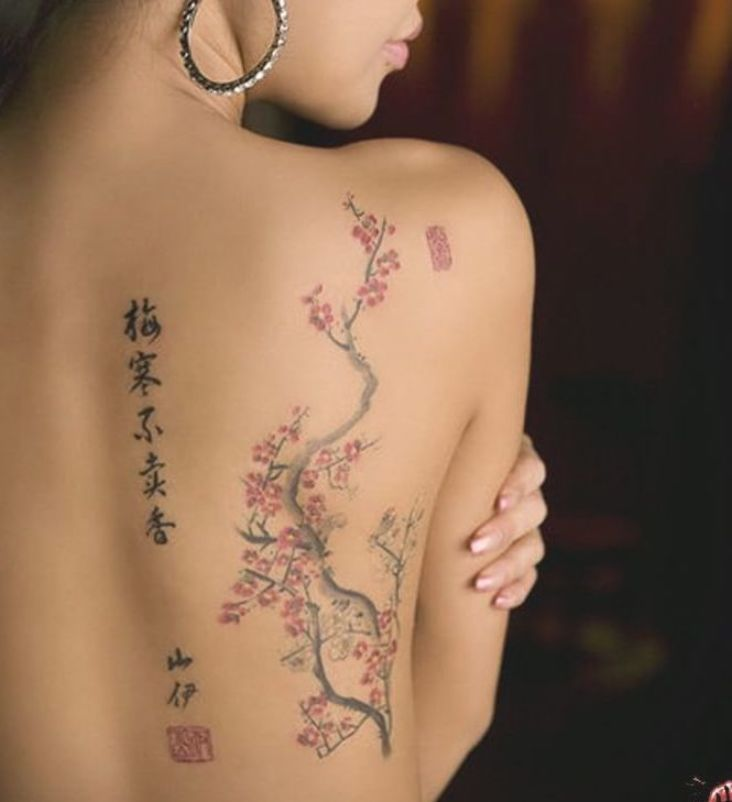Japanese Cherry Blossom Tree Tattoo Japanese Sleeve Tattoos Cherry Tattoos Blossom Tree Tattoo