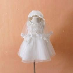 Baby Christening Gown Infant Girls White Princess Lace Baptism Dress Toddler Baby Girl Chiffon Dresses 3pcsset Online Shop 2015 Neonato Abito da battesimo Vestito da batt...