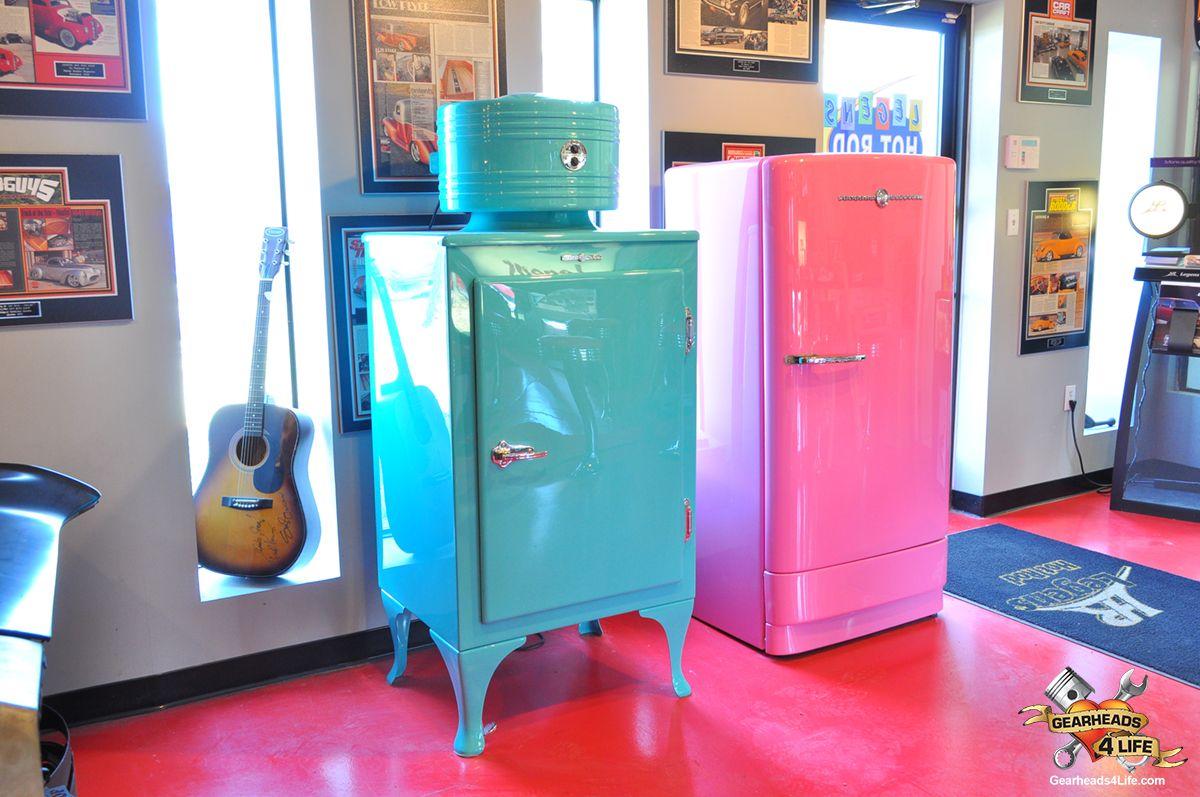 Two vintage fridge's Legens restored.