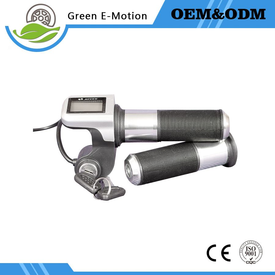 36v 48v Electric Bike Scooter Wheelbarrow Throttle With LCD ...