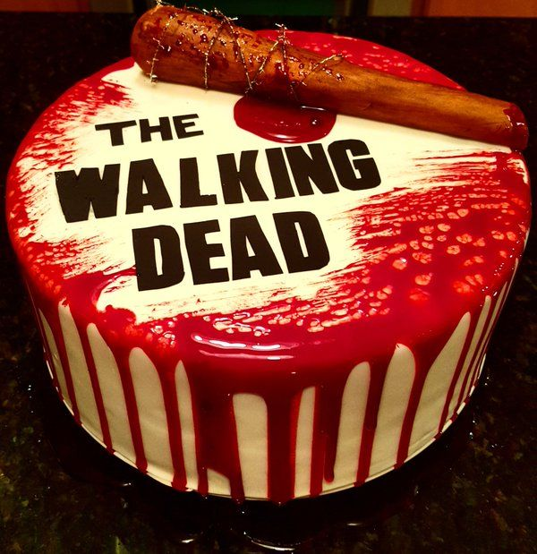 Heathereen On Walking Dead Cake And Twitter