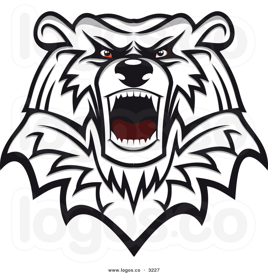 Roaring-bear-clipart-royalty-free-vector-of-an-angry-mad