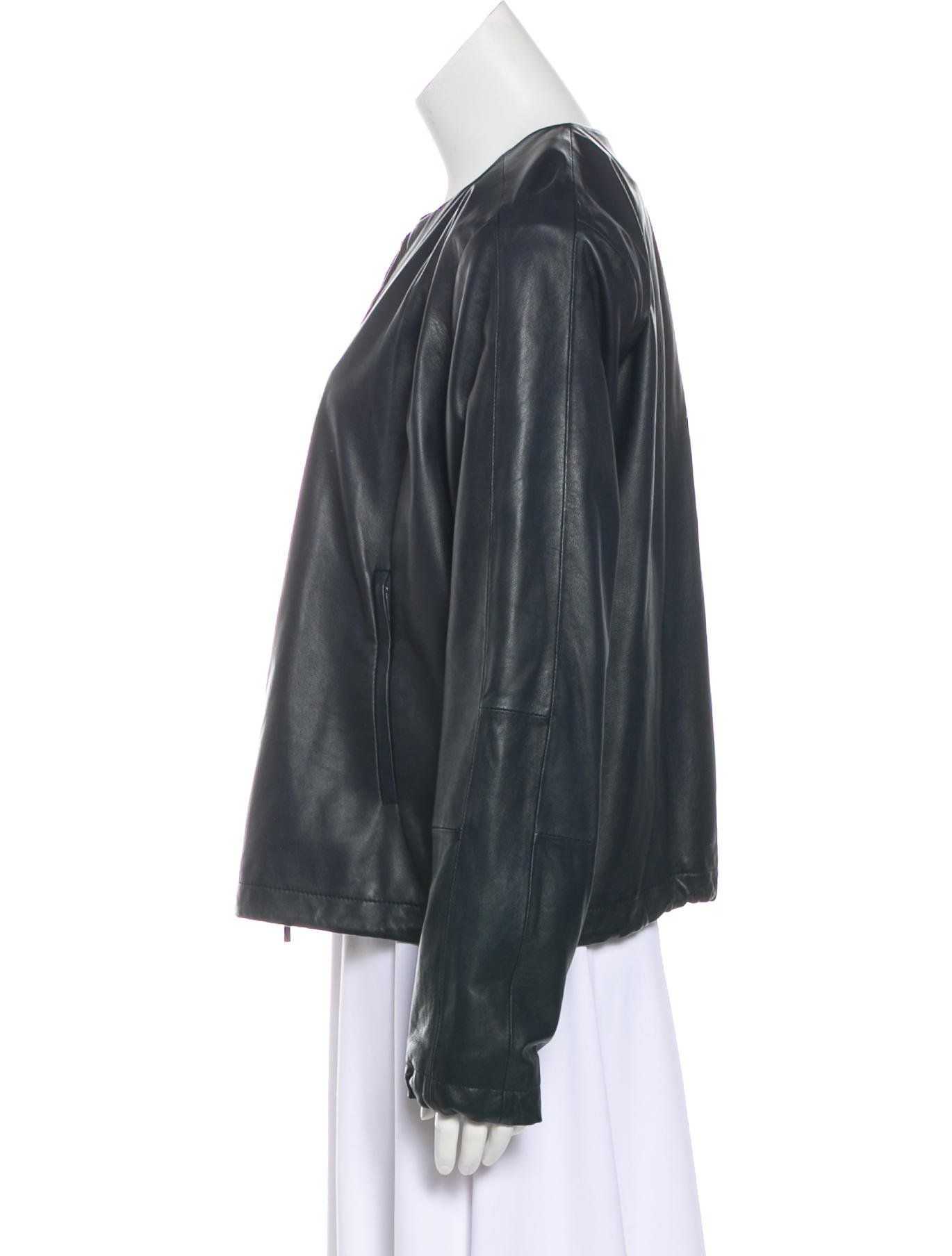 Vince leather zipup jacket w tags pinterest vince leather