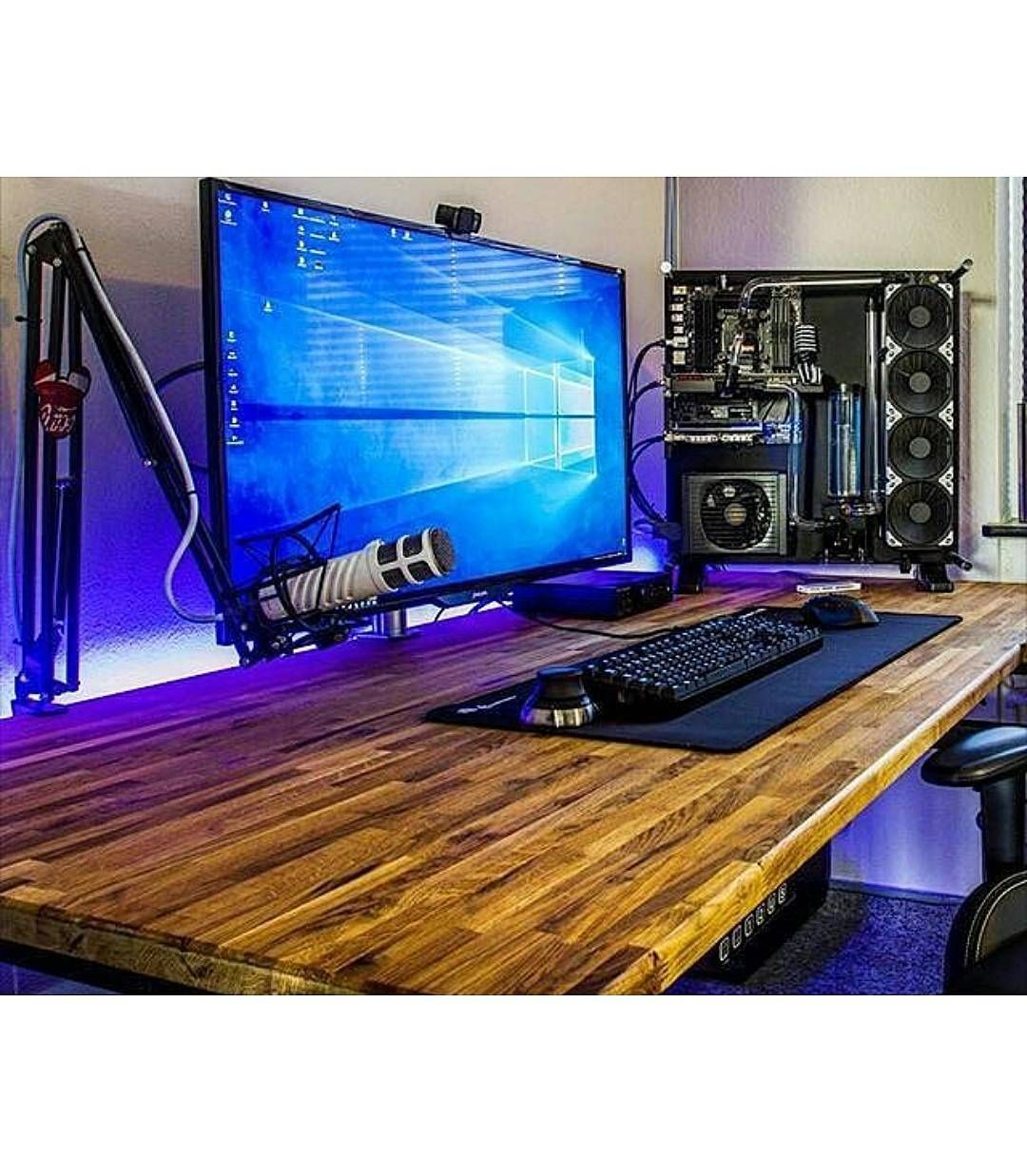 Best 25 Gaming Computer Desk Ideas On Pinterest Gaming