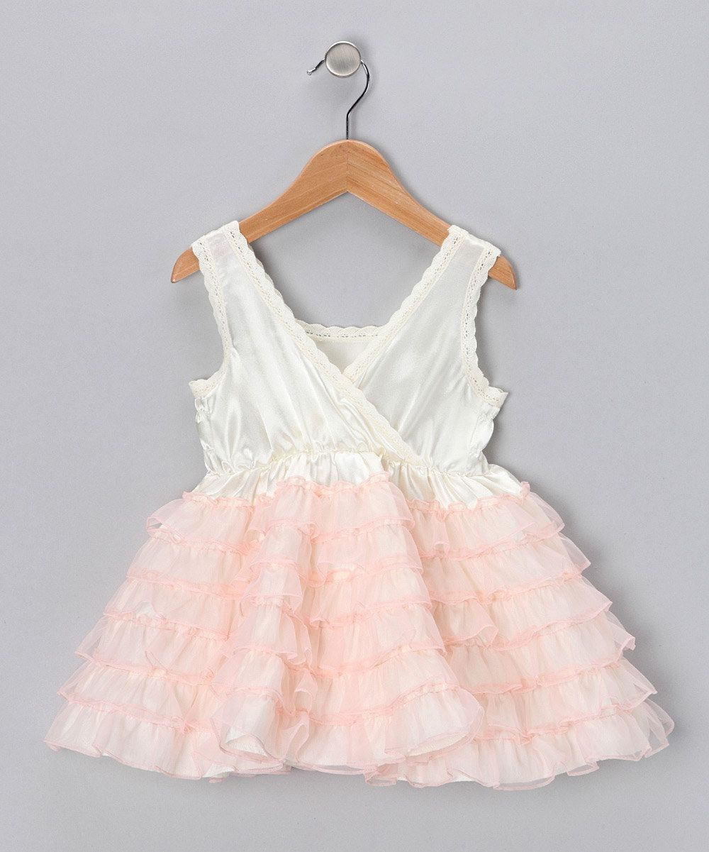 Pink Ruffle Dress for your glam girl! Right Bank Babies on #zulily!