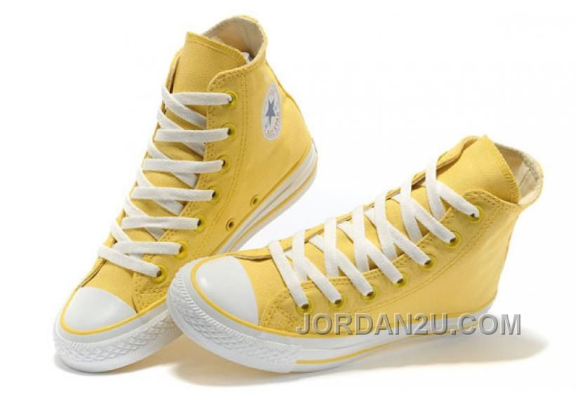 da9fe827d371 CONVERSE New Color Lemon Yellow Chuck Taylor All Star Canvas Women ...