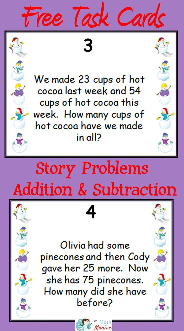 worksheet Double Digit Addition And Subtraction Word Problems grab this fun and free set of task cards to help your students do you know about the 12 addition subtraction word problem types second third graders are required be able solve under