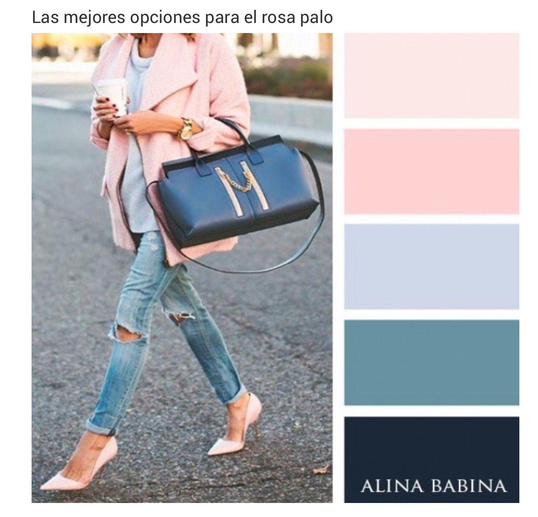 Palo De Rosa Combinacion Colores Ropa Combinaciones De Colores De Moda Como Combinar Colores Ropa