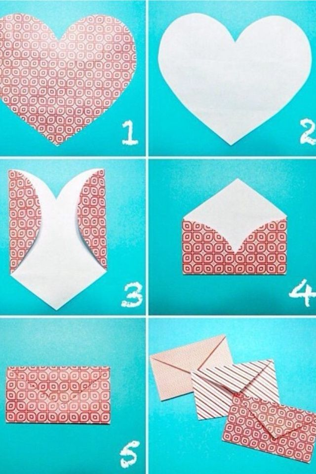 This Is An Easy Way To Make Envelopes If You Re Sending Cards To