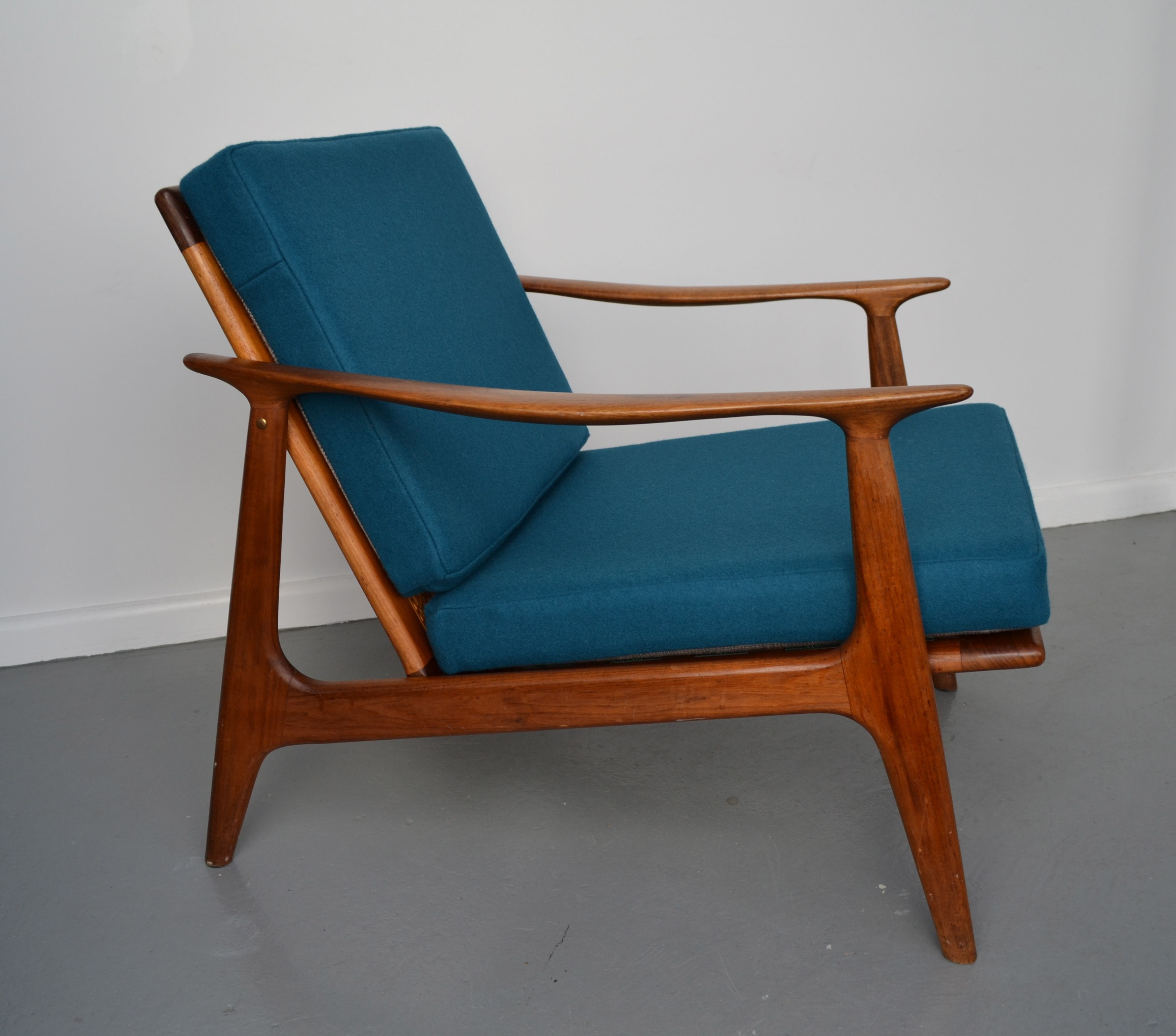Mid-century, retro, Australian Parker chair - look how good a solid ...