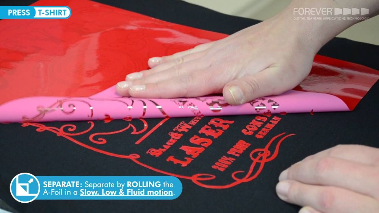 Forever No Cut Soft Laser Heat Transfer Paper Sihouette