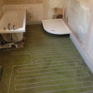 Bon Bathroom Floor Tiles Underfloor Heating