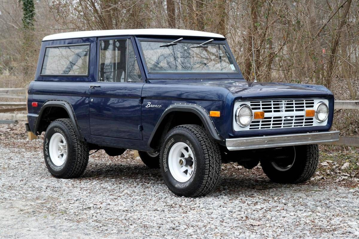 1973 Ford Bronco Maintenance/restoration of old/vintage vehicles ...