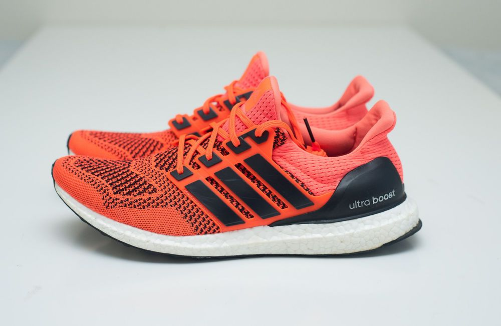 69398ddbe0d Adidas Ultra Boost 1.0 Solar Orange S77413 Rare Size 12