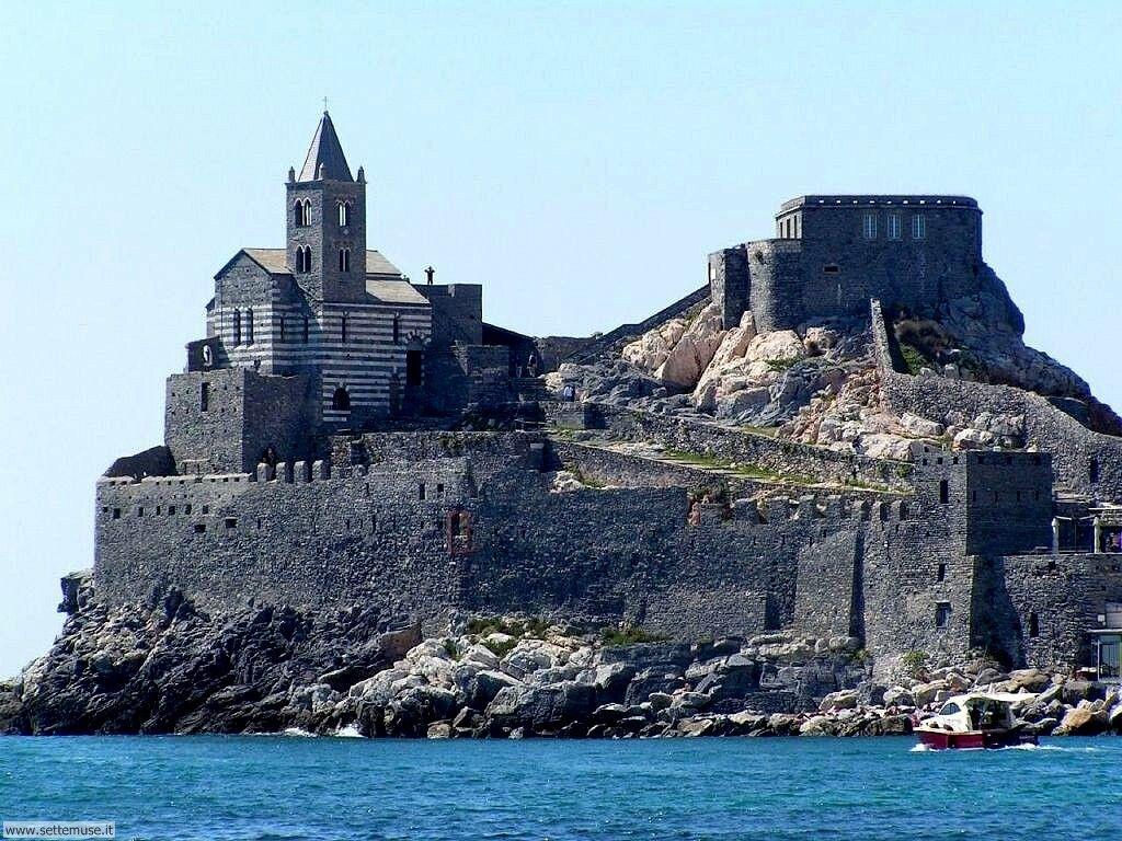 Portovenere, La Spezia, Liguria, Italia Portovenere