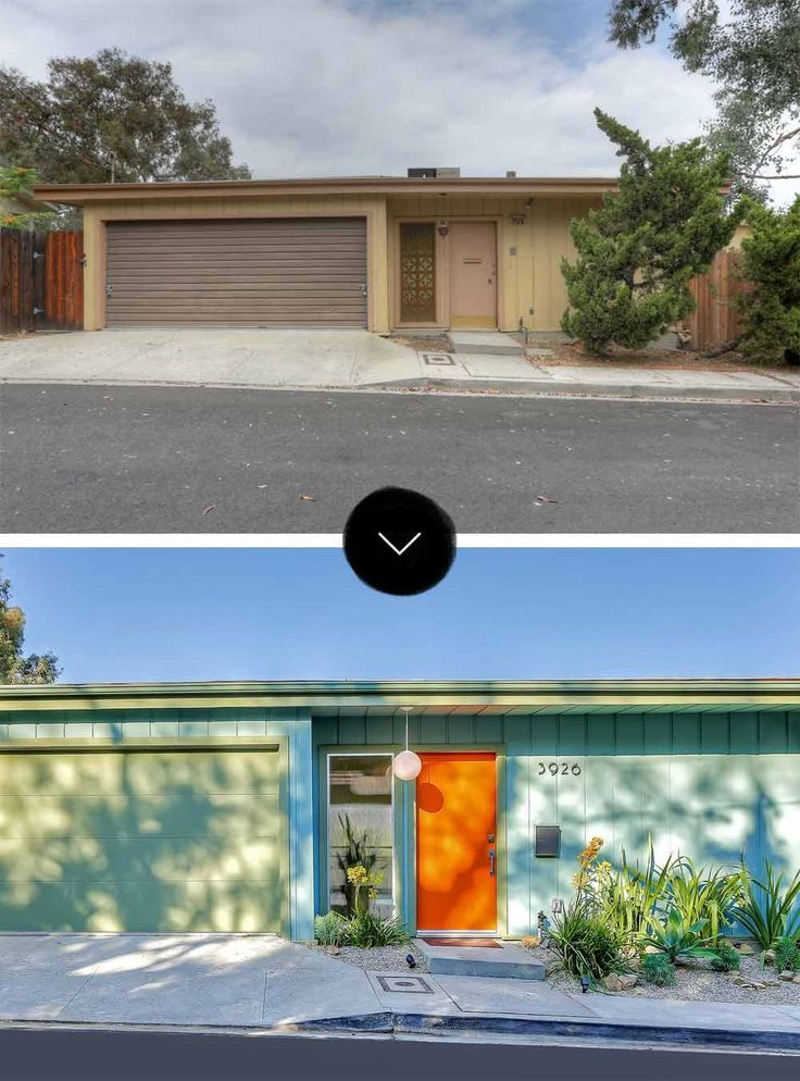 Earlier than & After: A Mid-Century Submit and Beam House in Mt ...