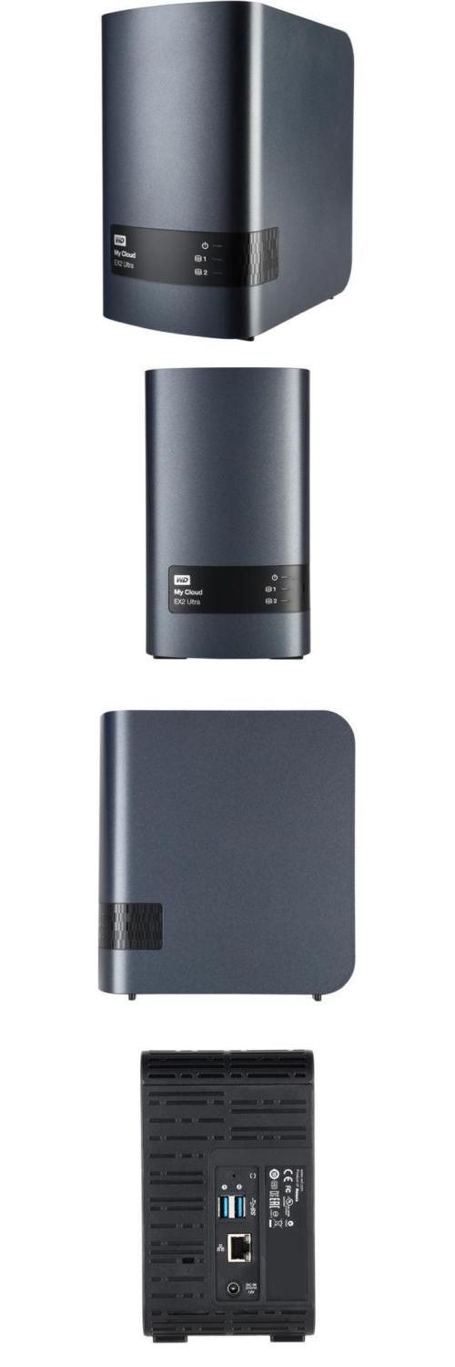 Network Attached Storage 106273: Wd My Cloud Ex2 Ultra Diskless 2 X