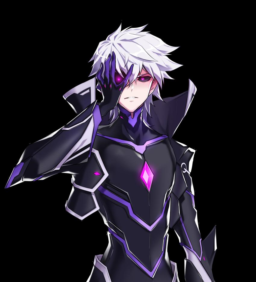 Anime Picture Search Engine 1boy Add Elsword Black Sclera Bodysuit Cropped Jacket Diabolic Esper Elsword Elsword Elsword Anime Elsword Anime Characters