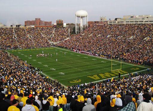 Kinnick Stadium-University of Iowa Favorite Places  Spaces